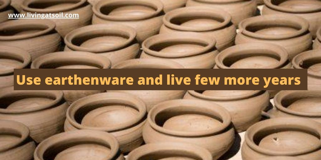 earthen clay pots for cooking